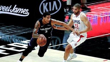 Son dakika spor haberleri: NBA'de Los Angeles Clippers'ın serisini Orlando Magic bitirdi