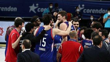 CSKA Moskova-Anadolu Efes maçının saati belli oldu!