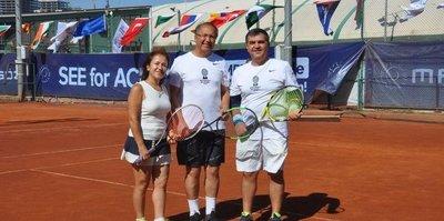 Kortta Diplomasi 2019 Tenis Turnuvası sona erdi