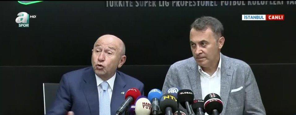 TFF Başkanı Nihat Özdemir'den canlı yayında müjde!
