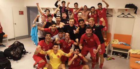 U19 Milli Takımı Elit Tur'a yükseldi