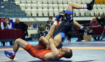 Serbest Güreş Süper Lig'de şampiyon Ankara İlbank Spor Kulübü