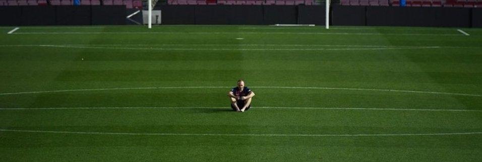 Iniesta Barcelonaya veda etti