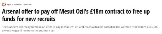 arsenalden mesut ozile flas teklif 1596987552845 - Arsenal'den Mesut Özil'e flaş teklif!