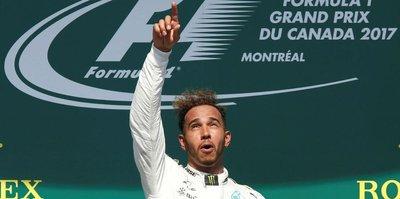 Kanada'da kazanan Hamilton!