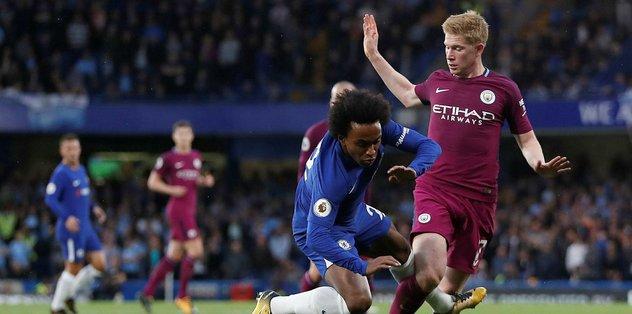 M. City, Chelsea'yı tek golle geçti