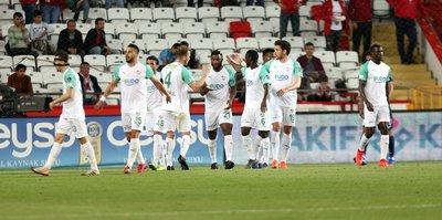 Antalyaspor 0-1 Bursaspor | MAÇ SONUCU (ÖZET) GOLLER