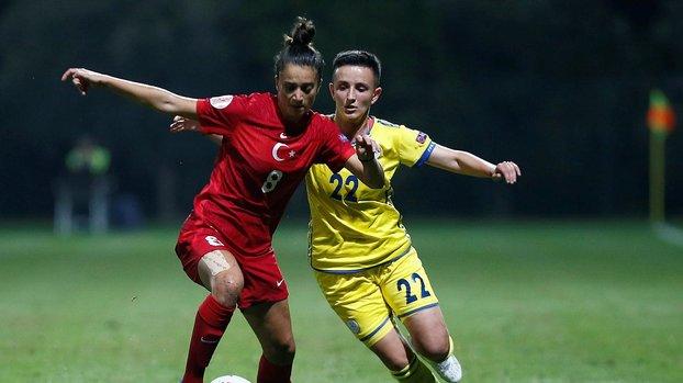 Avrupa Kadınlar Futbol Şampiyonası Elemeleri: Türkiye 0-0 Kosova   MAÇ SONUCU #