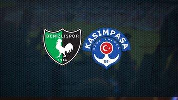 Denizlispor - Kasımpaşa maçı saat kaçta hangi kanalda?