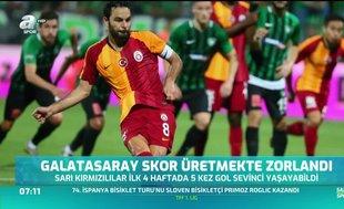 Galatasaray skor üretmekte zorlandı
