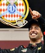 Monaco'da zafer Ricciardo'nun