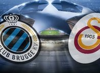 İşte Galatasaray-Club Brugge ilk 11'leri