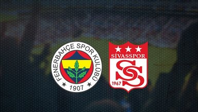 Fenerbahçe - Sivasspor maçı ne zaman? Saat kaçta ve hangi kanalda canlı yayınlanacak? | Süper Lig