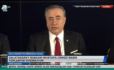 """Mustafa Cengiz: """"Yönetim olarak görevimizin başındayız"""""""