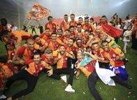 Galatasaray'ın şampiyonluk kutlamalarından kareler