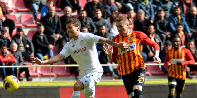 Konyaspor sonunu getiremedi! Kayseri'de...