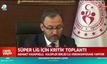 Spor Bakanı Kasapoğlu'ndan flaş açıklama!