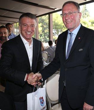 Ahmet Ağaoğlu'ndan AEK Yönetimine dostluk yemeği