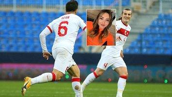 Çağlar Söyüncü ile Zehra Yılmaz sosyal medyadan takipleşti! Ozan Tufan...