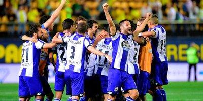 Emre'li Deportivo ligde kaldı