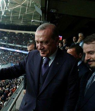 Beşiktaş golü yediğinde Cumhurbaşkanı ne dedi?