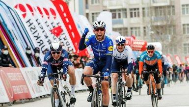 Cumhurbaşkanlığı Türkiye Bisiklet Turu'nda Konya-Konya etabının ikinci ayağını Mark Cavendish kazandı