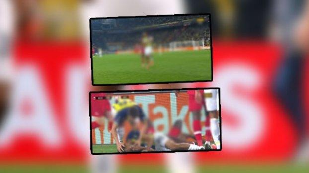 Fenerbahçe Antwerp maçında korkutan anlar! Nazım Sangare ile Pierre Dwomoh kafa kafaya çarpıştı