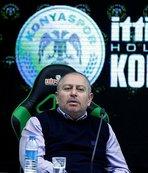 Konyaspor Başkanı Hilmi Kulluk: Ben mi çıkıp oynayacağım