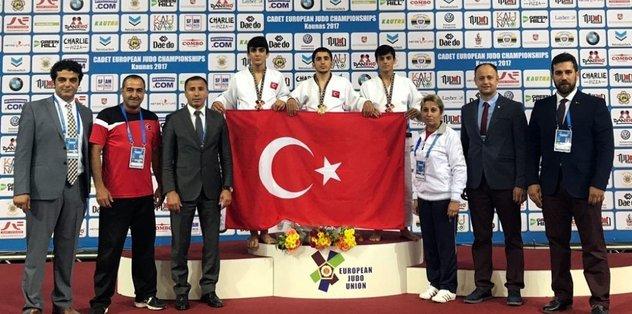 Osmangazili Judocu, Avrupa üçüncüsü oldu