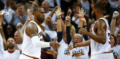 Son şampiyon Cleveland kazandı
