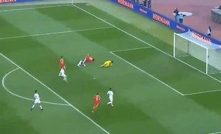 Adem Ljajic, Sırbistan - Karadağ maçında fileleri havalandırdı