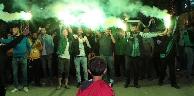 Akhisarspor'da final coşkusu