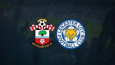 Southampton Leicester City maçı ne zaman, saat kaçta ve hangi kanalda CANLI yayınlanacak? Muhtemel 11'ler ve daha fazlası...