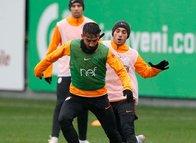 Galatasaray'da Beşiktaş maçı hazırlıkları başladı!