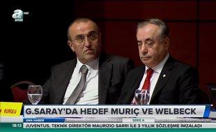 Galatasaray'da hedef Muriç ve Welbeck