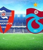 Karabükspor - Trabzonspor | CANLI ANLATIM