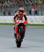 Malezya'da kazanan Marquez