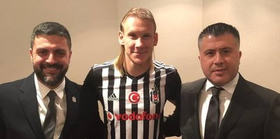 Domagoj Vida Beşiktaş'a
