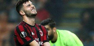 Milan'a şok