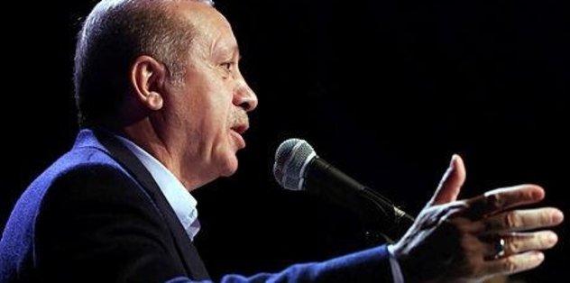 Cumhurbaşkanı Erdoğan gündeme değinecek