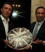 Başkan Gevrek, Ali Koç ve yöneticilerini ağırladı