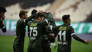 Bursaspor ligi Play-Off hattında tamamlamak istiyor!