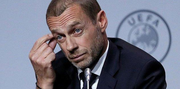 """Son dakika: UEFA'dan flaş açıklama! """"Şampiyon açıklanabilir"""""""