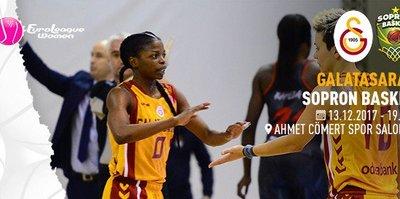 Galatasaray, Sopron Basket'i ağırlayacak