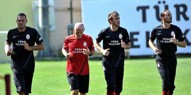 Claudio Taffarel antrenmana çıktı