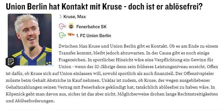 Max Kruse şoke oldu! Fenerbahçe ve transfer... - Futbol -