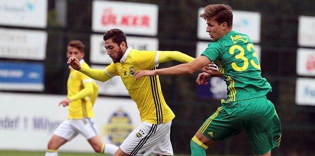 Fenerbahçe, U21 Takımı'nı rahat geçti