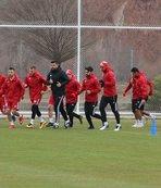 Sivasspor Bursaspor maçı hazırlıklarını sürdürdü