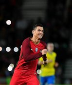 Ronaldo en golcüler sıralamasında ilk 10'da