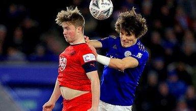 İngiltere'de FA Cup gecesi! Çağlar Söyüncü'nün takımı Leicester City turladı